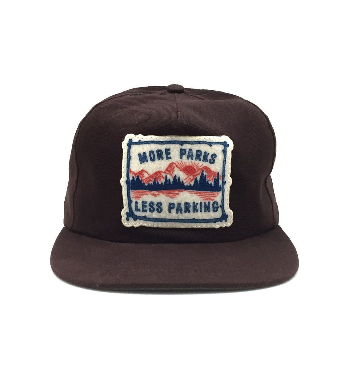 The Ampal Creative More Parks III Strapback - Brown - Headwear - Iron and Resin