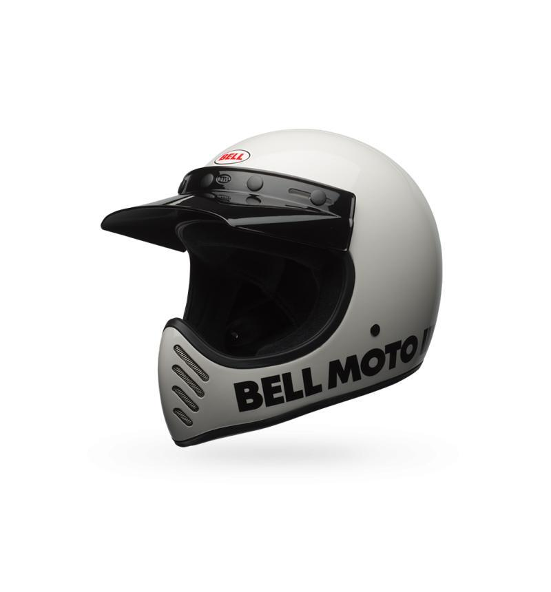 Bell Moto 3 Helmet - White, S - Display Model - Riding - Iron and Resin
