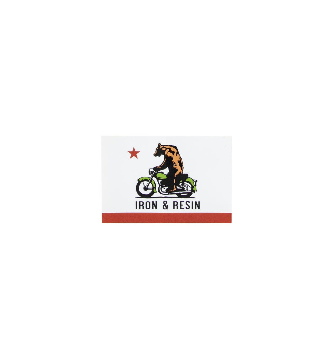 CA Moto Bear Sticker - Stickers/Pins/Patches - Iron and Resin