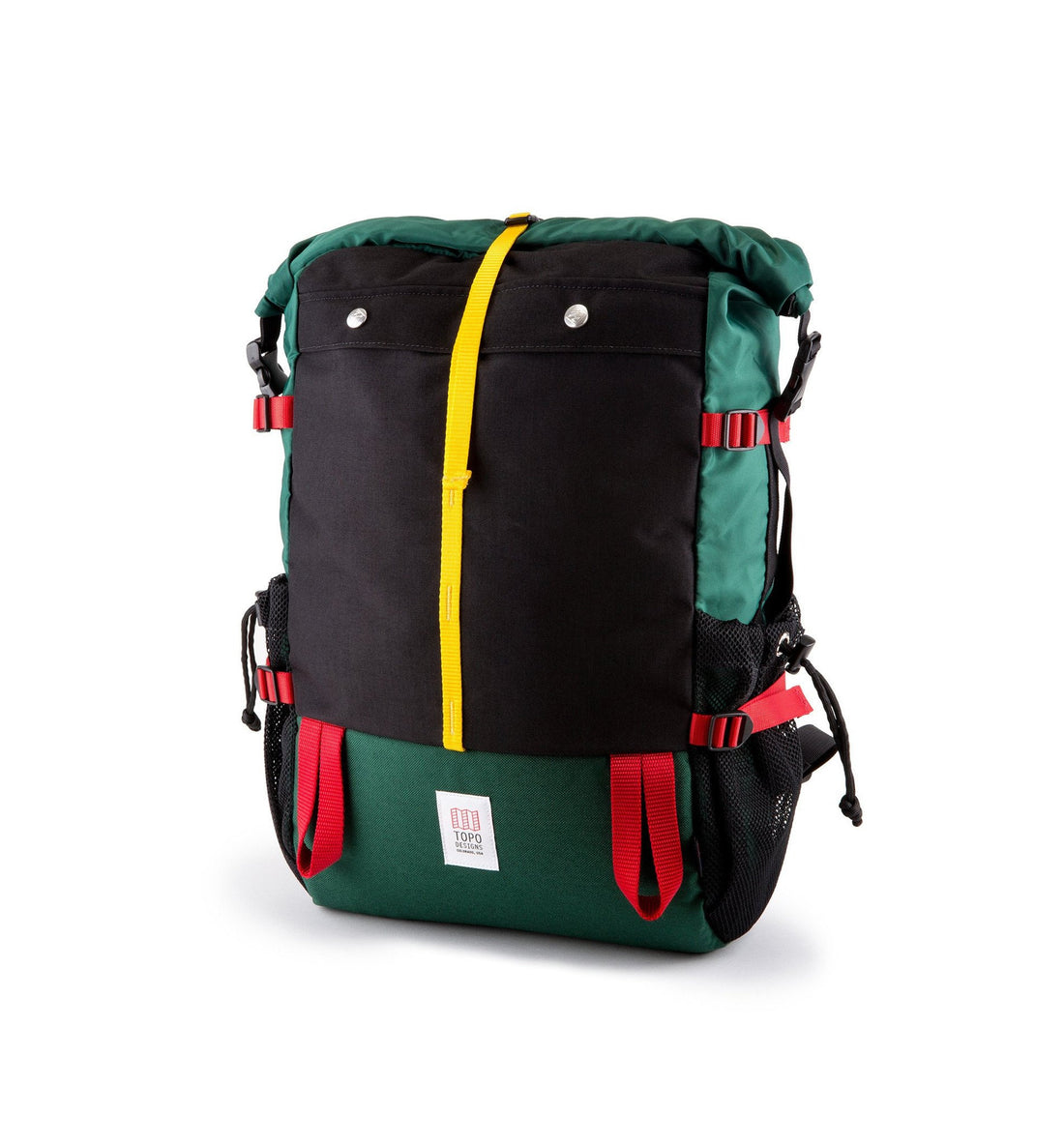 Topo Designs Mountain Roll Top - Bags/Luggage - Iron and Resin