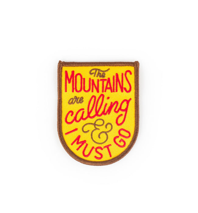 Kimberlin Co. Patch - The Mountains Are Calling - Accessories: Patches - Iron and Resin