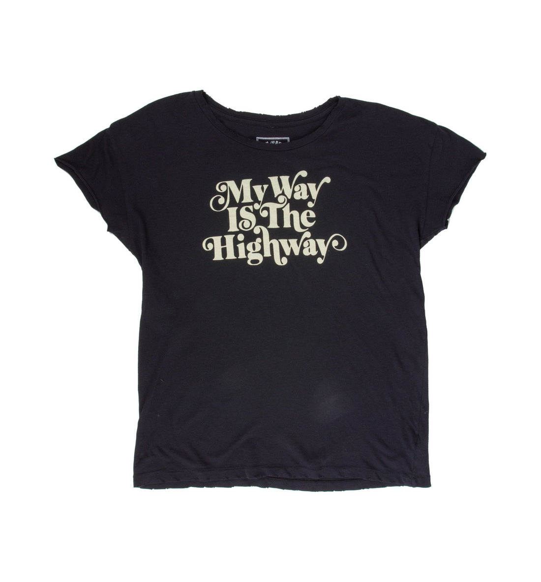 Women's My Way Is The Highway Tee - Tops - Iron and Resin