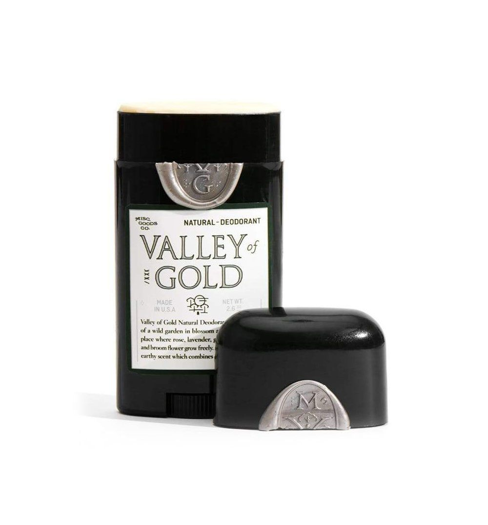 Misc Goods Co. Natural Deodorant - Valley of Gold - Grooming - Iron and Resin