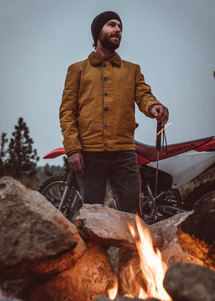 Iron & Resin Nautilus Jacket in Field Tan