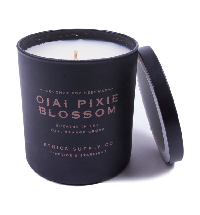 Fireside & Starlight - Ojai Pixie Blossom Candle - Houseware: Candles - Iron and Resin