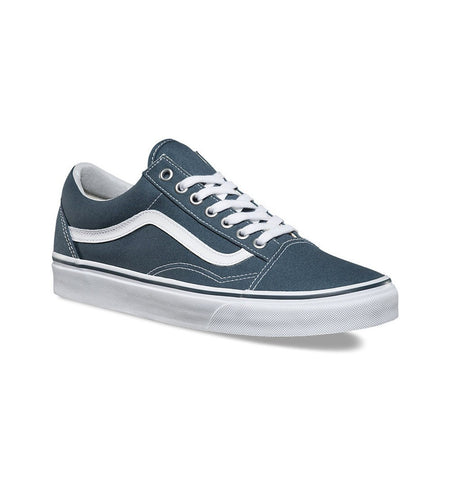 Vans UA Old Skool (Canvas) - Shoes: Men's - Iron and Resin
