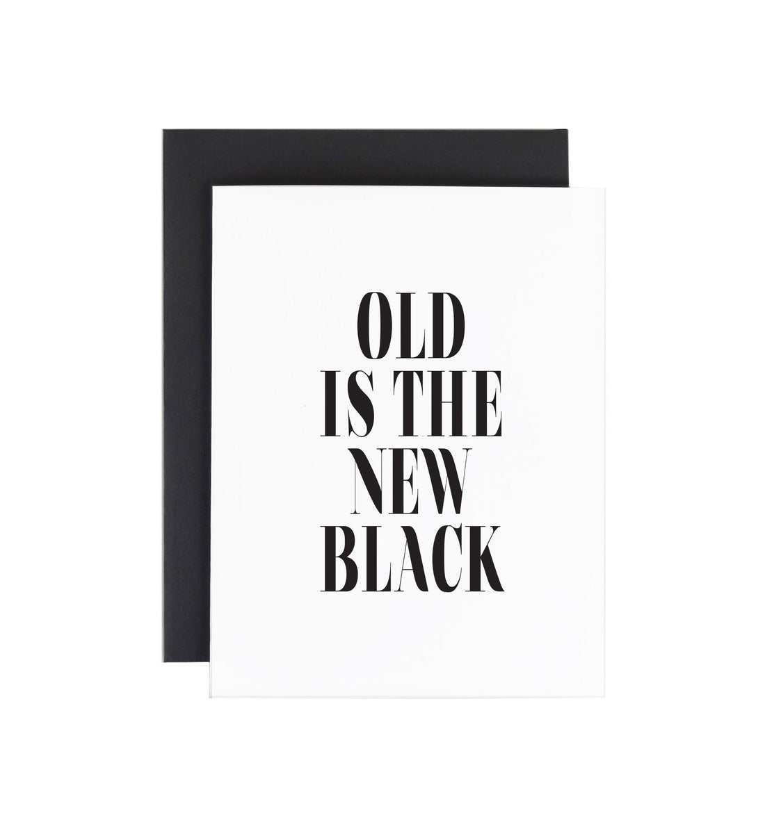 Savvy Heart - Old Is the New Black - Art/Prints - Iron and Resin