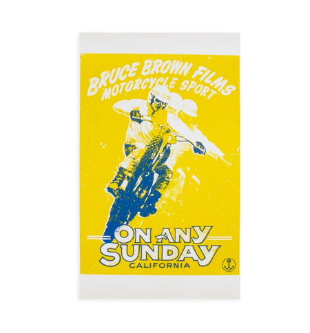 On Any Sunday Poster - Art/Prints - Iron and Resin