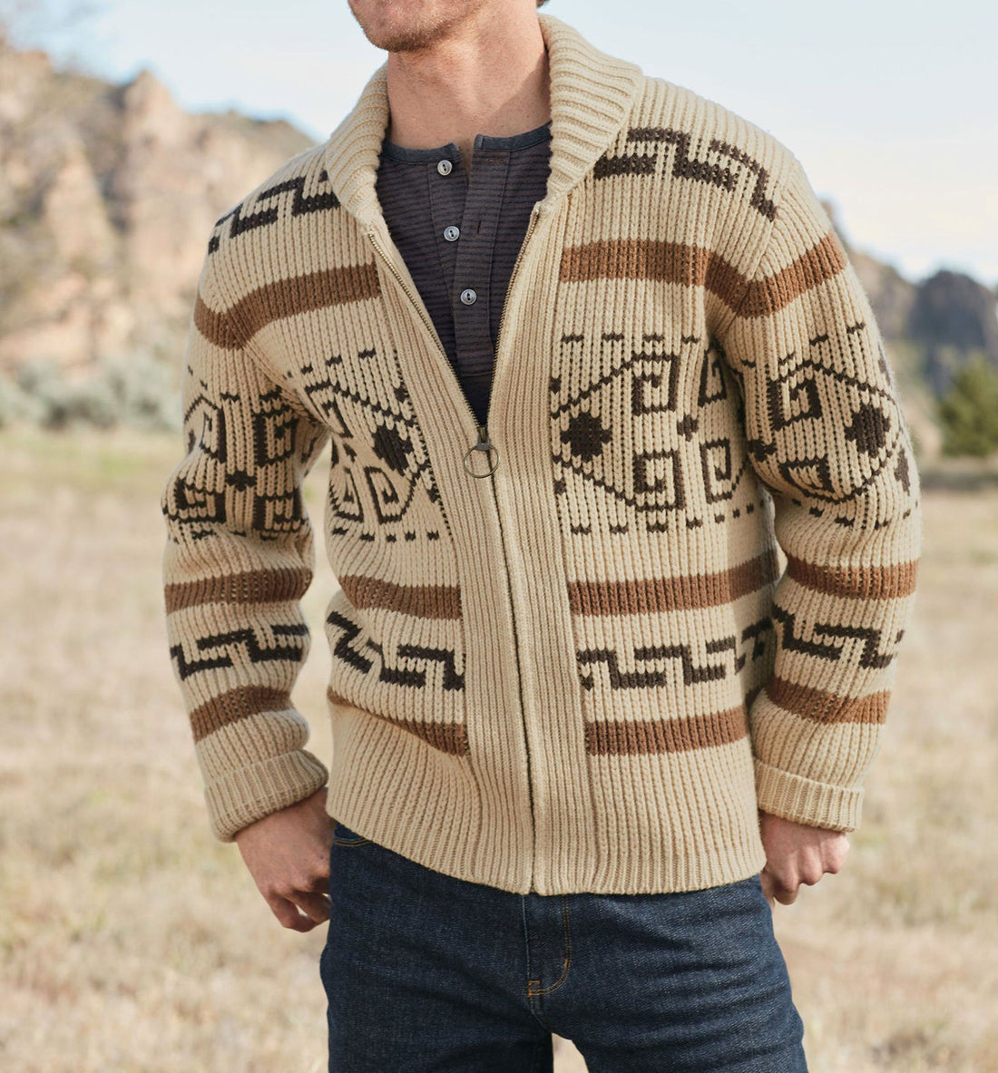 Pendleton Woolen Mills The Original Westerley - Tops - Iron and Resin
