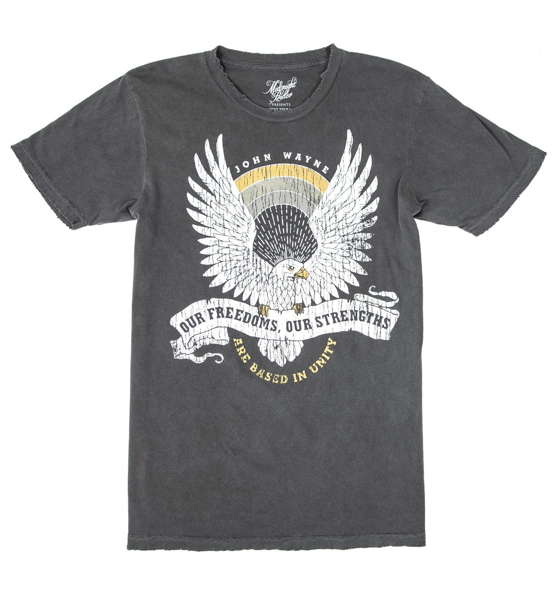 Midnight Rider - Our Freedoms Our Strengths Tee - Tops - Iron and Resin