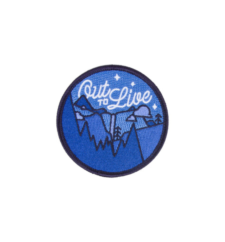 Asilda - Out To Live Patch - Accessories: Patches - Iron and Resin