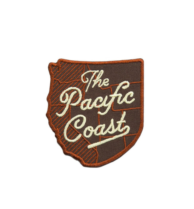 Kimberlin Co. Patch - The Pacific Coast - Accessories: Patches - Iron and Resin