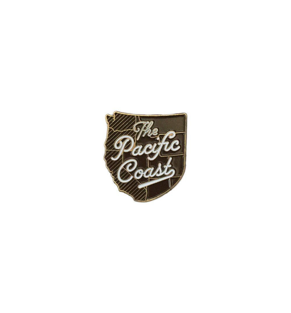 Kimberlin Co. Pin - The Pacific Coast - Stickers/Pins/Patches - Iron and Resin