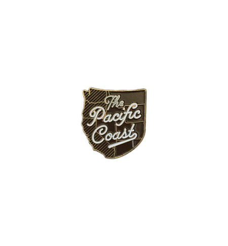 Kimberlin Co. Pin - The Pacific Coast - Accessories: Pins - Iron and Resin