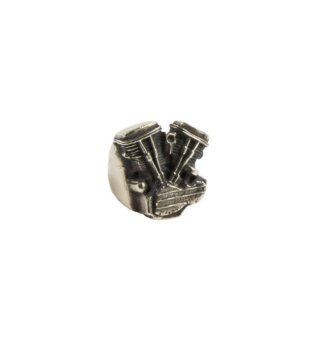 Repop Mfg - Panhead Ring - Jewelry - Iron and Resin