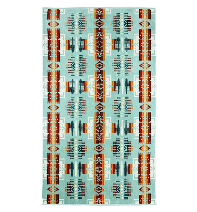 Pendleton Towel- Chief Joseph Aqua - Houseware - Iron and Resin