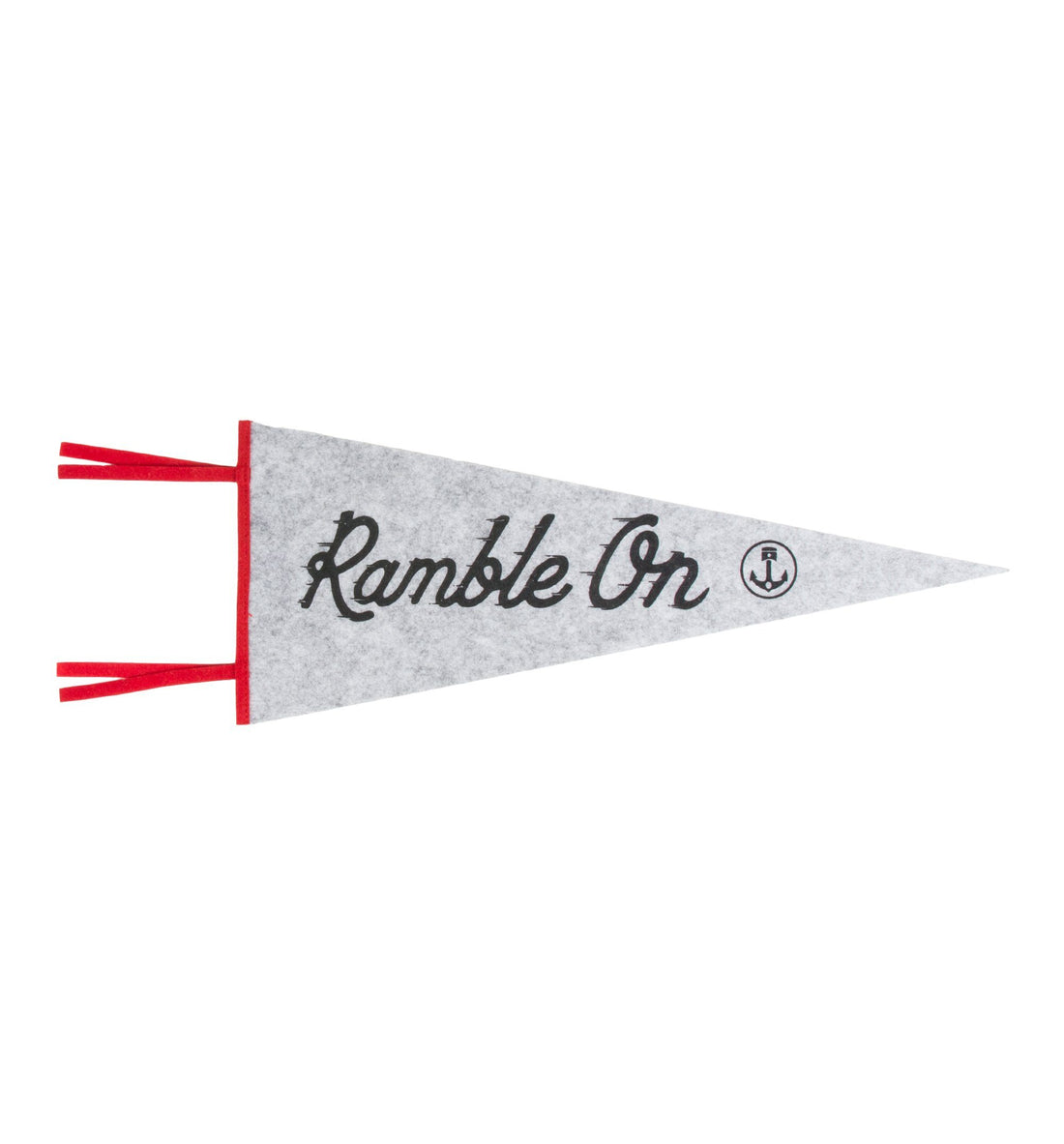 InR Pennant Flag - Ramble On - Living Space - Iron and Resin