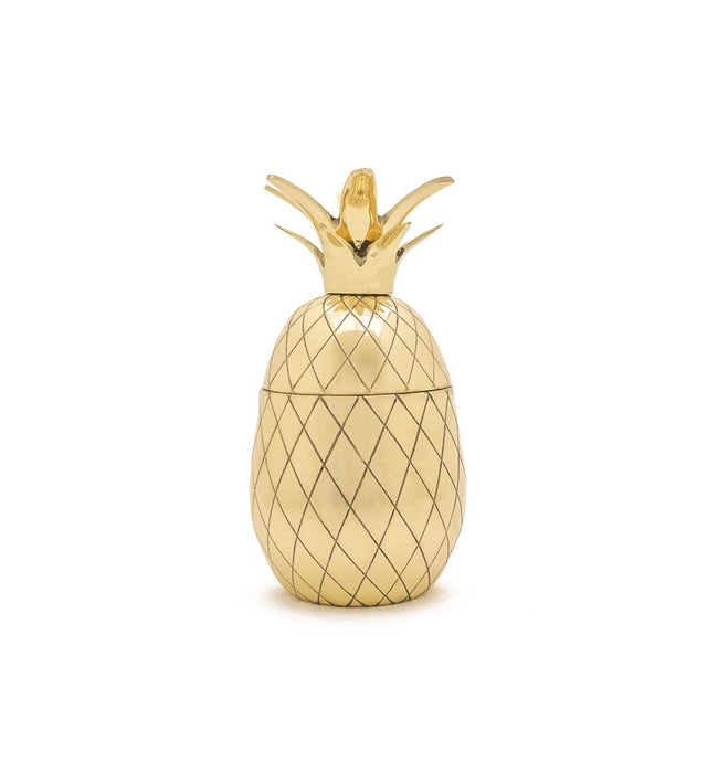Pineapple Tumbler, Gold - Kitchenware - Iron and Resin