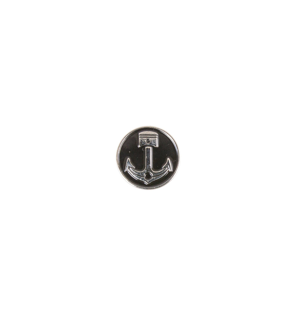 INR Anchor Piston Enamel Pin