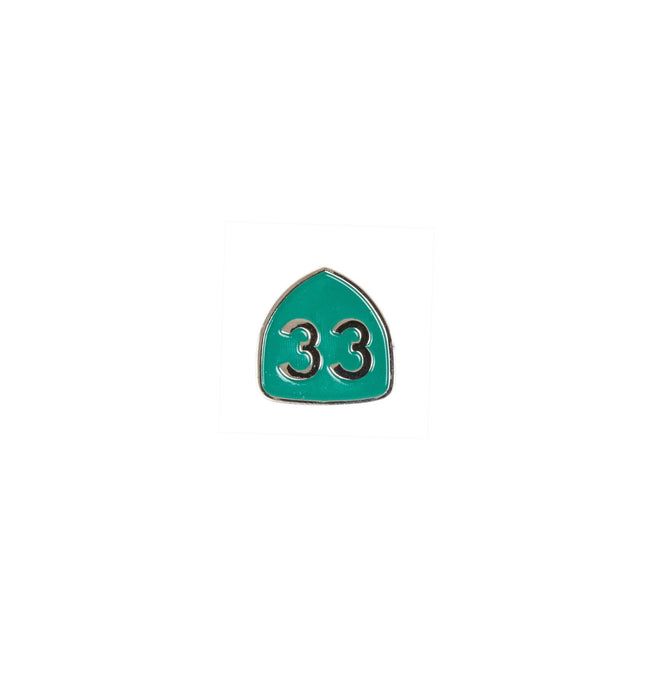 INR CA 33 Enamel Pin - Accessories: Pins - Iron and Resin