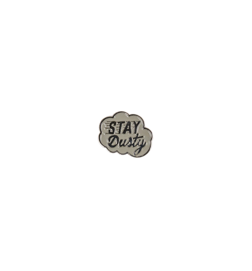 INR Stay Dusty Enamel Pin