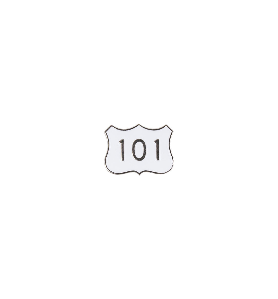 HWY 101 Enamel Pin - Stickers/Pins/Patches - Iron and Resin