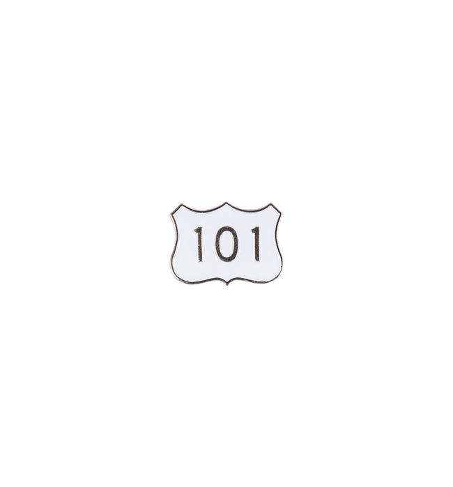 INR HWY 101 Enamel Pin - Accessories: Pins - Iron and Resin