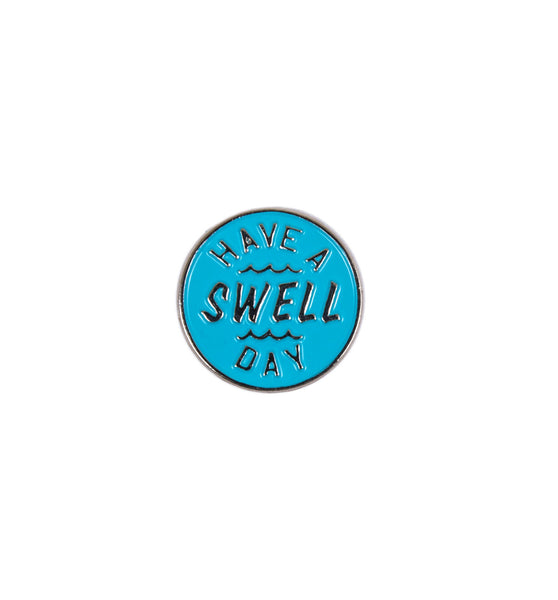 INR Swell Day Enamel Pin