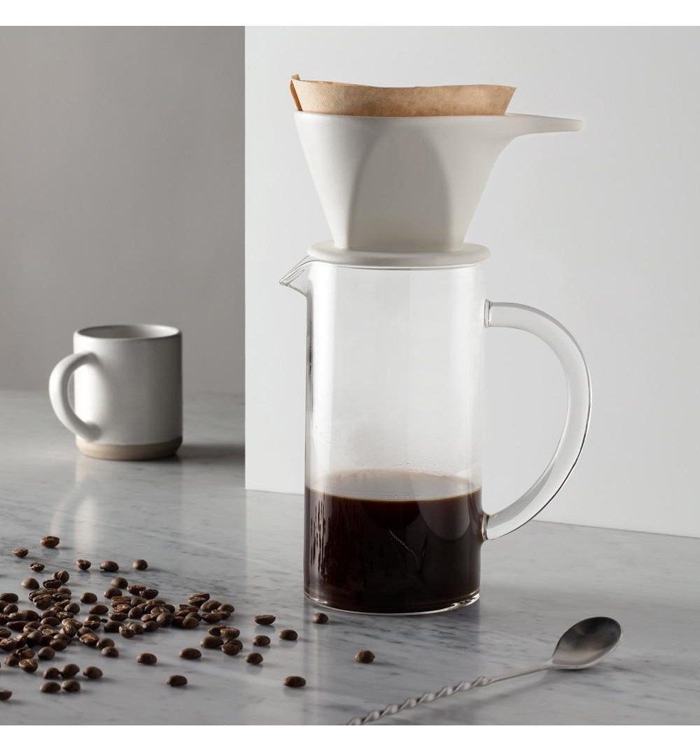 W & P Pour Over Press - Kitchenware - Iron and Resin