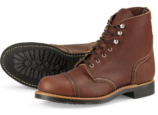 Red Wing Women's Iron Ranger - Boots - Iron and Resin