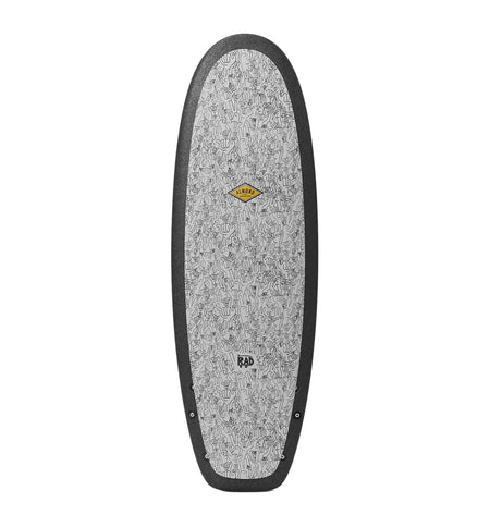 "Almond Surfboards & Design R-Series Secret Menu - Peace & Shakas - 5'4"" - Surf - Iron and Resin"