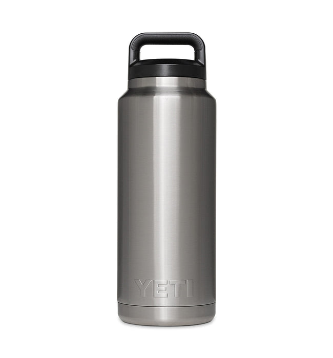 Yeti Rambler Bottle, 36 oz Stainless - Houseware: Thermos - Iron and Resin