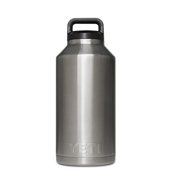 Yeti Rambler Bottle, 64 oz Stainless - Houseware: Thermos - Iron and Resin