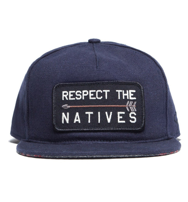 The Ampal Creative Respect the Natives - Accessories: Headwear: Hats - Iron and Resin