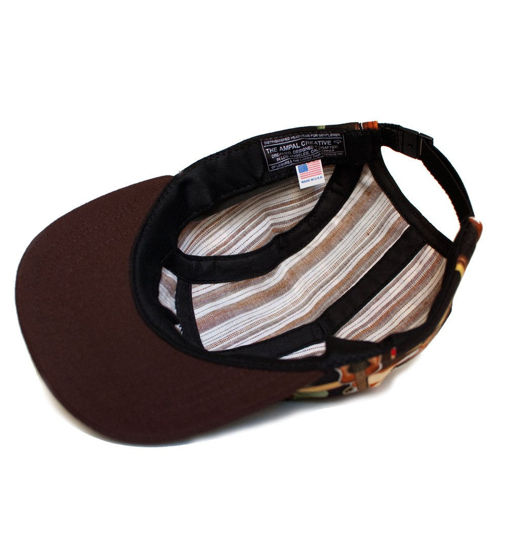 The Ampal Creative - Reverse II 5 Panel, Blk - Headwear - Iron and Resin