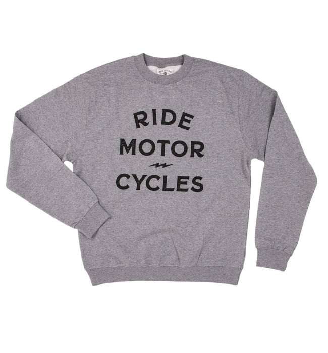 Ride Motorcycles Fleece - Tops - Iron and Resin