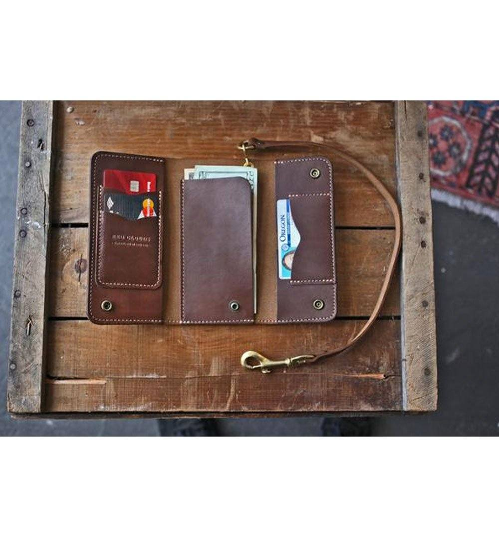 Red Clouds Collective Rigby Trucker Wallet - Walnut - Carry Essentials - Iron and Resin