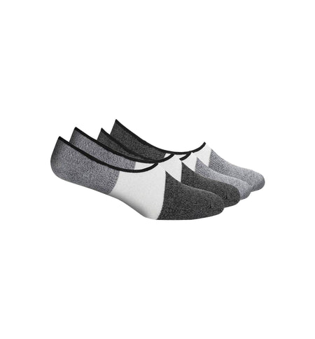 Richer Poorer Inc 2-PK Riker No Show Sock - Grey Black - Socks/Underwear - Iron and Resin