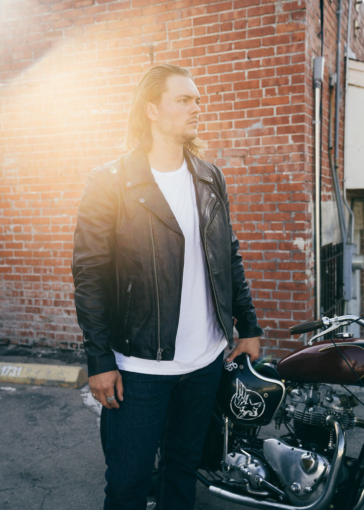 Iron & Resin Ringo Jacket - Lost Highway Collection Men's Motorcycle Jacket
