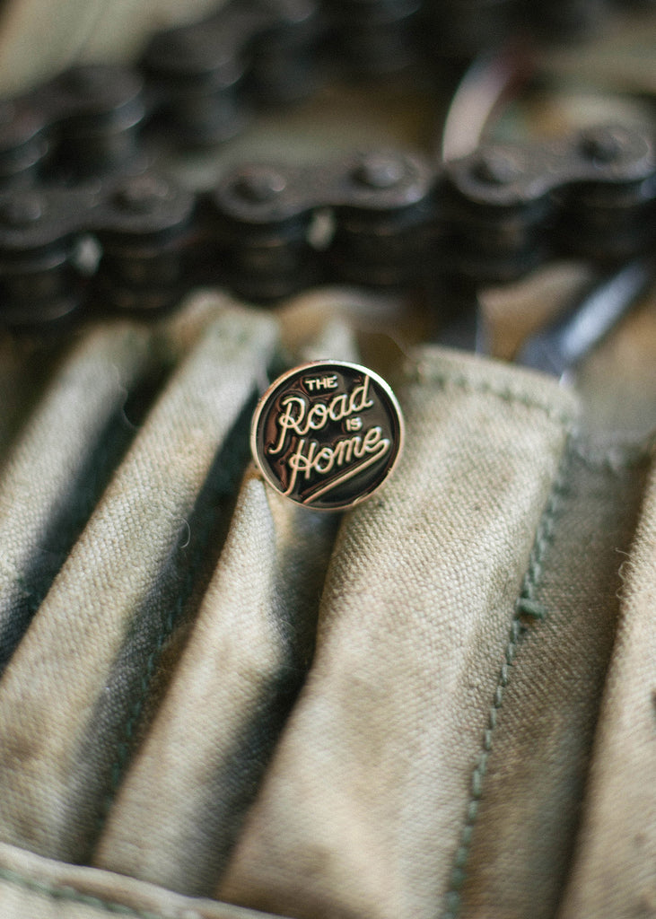 Iron & Resin The Road is Home Enamel Pin