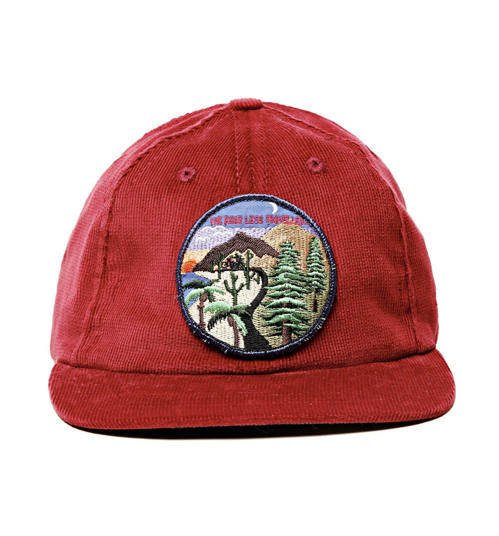 The Ampal Creative Road Less Traveled 6-Panel Hat - Headwear - Iron and Resin
