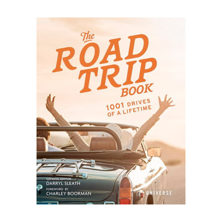 The Road Trip Book: 1001 Drives of a Lifetime - Home Essentials - Iron and Resin