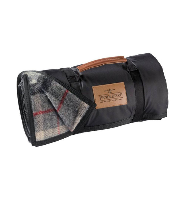 Pendleton Roll Up Blanket - Lost Lake Plaid - Houseware: Blankets - Iron and Resin