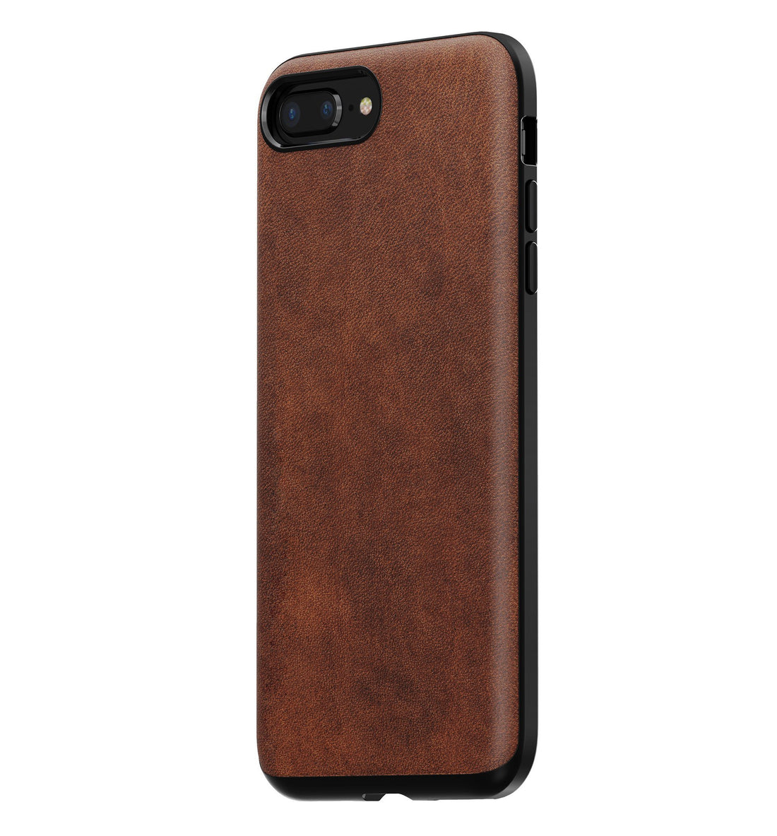 brand new 0bba2 0c300 Nomad Rugged Leather Case - Rustic Brown - iPhone 8/7 Plus – Iron ...