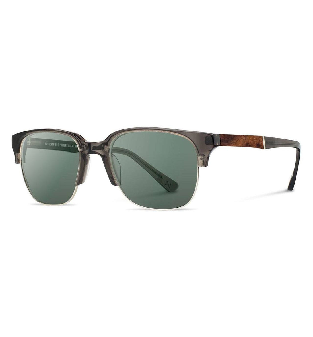 Shwood Newport 52mm - Accessories: Eyewear: Men's - Iron and Resin