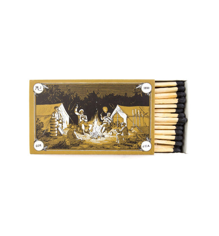 Mollyjogger Hearth Safety Matches - Home Essentials - Iron and Resin