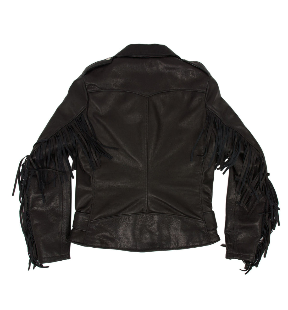 Schott Women's Fringe Leather Jacket - Apparel: Women's: Outerwear - Iron and Resin