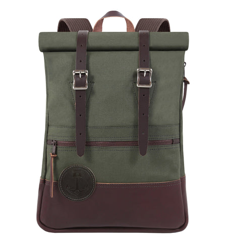 InR x Duluth Pack Scout Deluxe Rolltop - Bags/Luggage - Iron and Resin