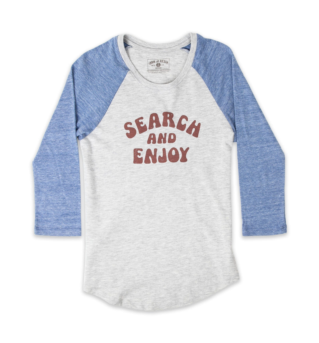 Women's Search And Enjoy Baseball Tee - Tops - Iron and Resin