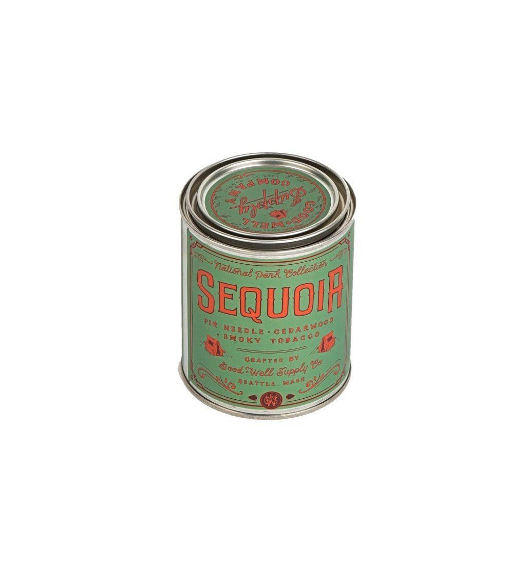 Good & Well Supply Company National Park Candle - Sequoia - Pint - Home Essentials - Iron and Resin